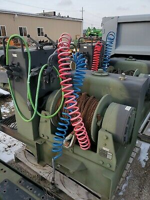 Hydraulic winch used, military wrecker, hoist,  cable winch