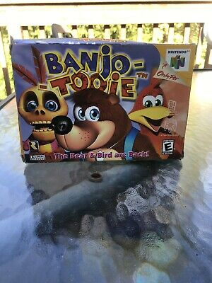 Nintendo 64 Banjo Tooie Empty Box With Manual Only