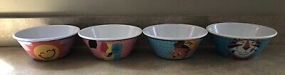 Kelloggs Cereal Bowls Lot Of 4 Brand New Vintage 2015