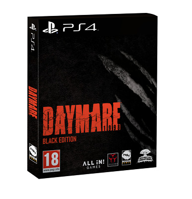 Daymare 1998 Black Edition PS4 New Blister