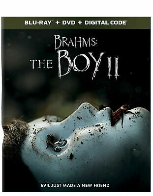 BRAHMS: THE BOY II 2 BLU-RAY+Digital plus slipcover BRAND NEW!!!