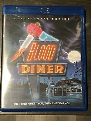 Blood Diner (Blu-ray Disc, 1987) RARE OOP Region A Horror