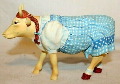 BEAUTY 2002 Issue Cow Parade 7241~ DOROTHY COW ~Wizard of Oz~1/12~RARE & RETIRED