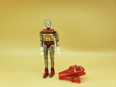 "Vintage 1976 MEGO Micronauts Series 1 Red Galactic Warrior 3.75"" Action Figure"