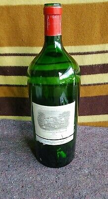 Large Vintage Chateau Lafite Rothschild Wine Bottle