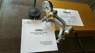 Patterson Medical Jamar Hydraulic Hand Dynamometer hand evaluation tool USA