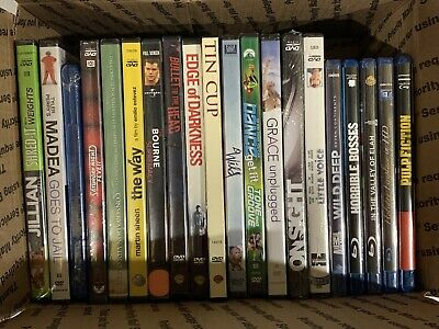 Lot Of 20 Dvd And Bluray Movies See Pictures For Titles