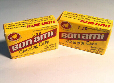 Bon Ami Cleaning Cake Soap  8 Oz 227 Grams   (Vintage Nos)  Never Opened
