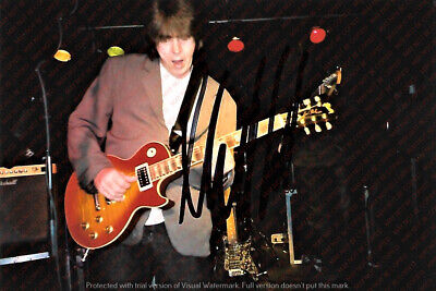 Rolling Stones Mick Taylor Personally Signed Vintage Photo
