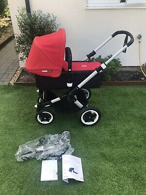 Bugaboo Buffalo Red Standard Single Seat Pushchair