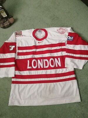 London Racers were Knights ice hockey jersey shirt top size xl