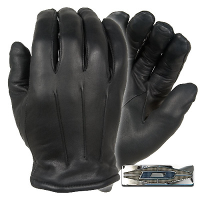 Thinsulate Leather Dress Gloves - Black - Medium
