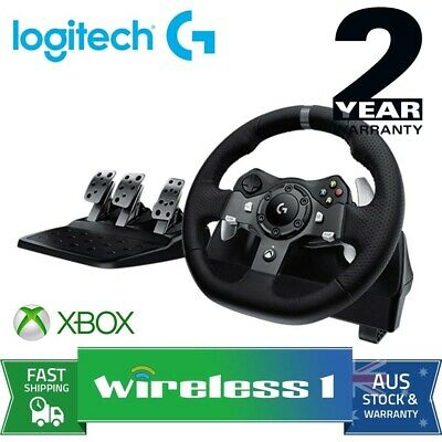 Logitech G920 Driving Force Racing Wheel for PC and Xbox 941-000126