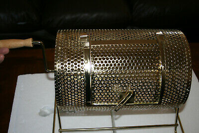 Small Brass Raffle Drum with 2000 Free Raffle Tickets