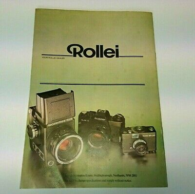Rollei Catalogue  - Photography Collectors