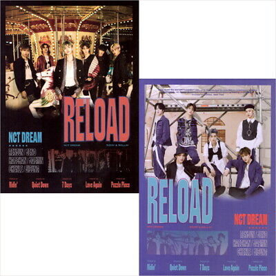 NCT Dream - Reload (4th Mini Album) CD+Photocard+F.Poster+Circle Card NEW SEALED