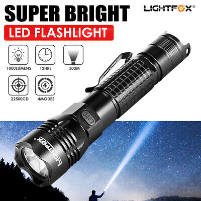 Rechargeable Super Bright CREE L2 LED 18650Battery Flashlight Torch Headlamp