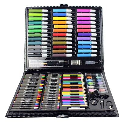 150 Pcs/Set Drawing Tool Kit with Box Painting Brush Art Marker Water Color Pens