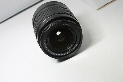 Canon EF-S 18-55mm III Lens    Excellent Condition