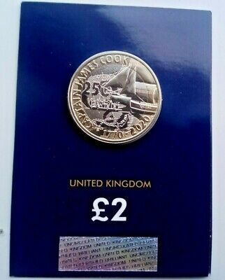 2020 UK Captain Cook £2 BU