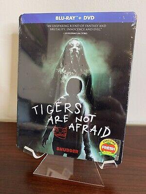 Tigers Are Not Afraid Steelbook (Blu-ray+DVD) Factory Sealed