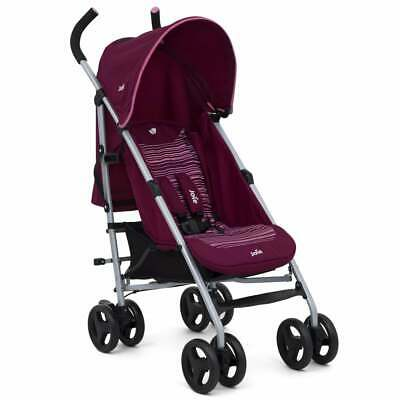 Joie Nitro Stroller Skewed Lines Pink With Raincover