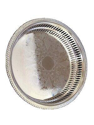 Siver Plated Gallery Tray