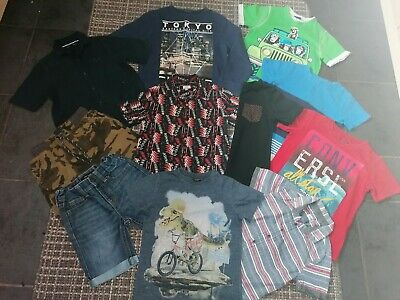 boys size 5-6 years summer clothing bundle. river island, next, converse