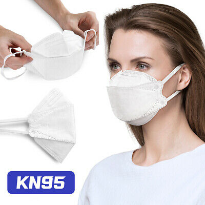 KN95 Disposable Face Mask 5-Layers Protective Respirator Cover Dust Protection