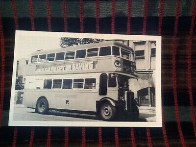 LONDON BUS PHOTO B/W STL90(TB) JJ6290 Route47