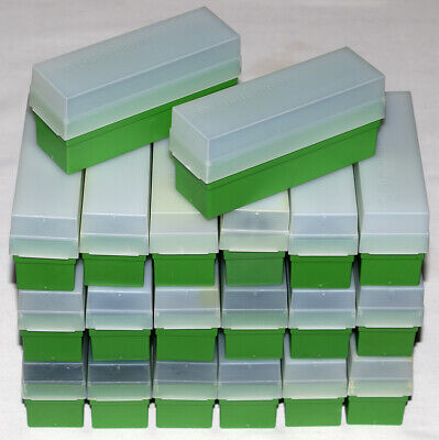 20 x Fuji 35mm Slide Storage Boxes with Lids