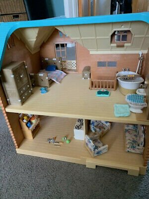 Sylvanian Families House with furniture and accessories