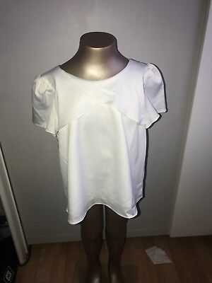 Monsoon Age 9 Girls Top Lovely Ivory