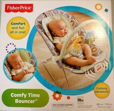 Fisher-Price BMM96   Baby Bouncer - Comfy Time Bouncer 6306 ''