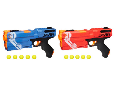 NERF Rival Kronos RED or BLUE Blaster Boy's Toy Hand Guns Includes 5 Foam Darts