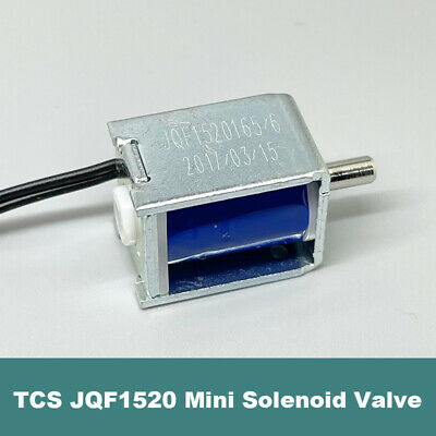 DC 24V Solenoid valve Micro electric Water Gas Air valve Normally closed UK