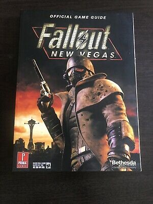 Fallout New Vegas : Prima Official Game Guide BOOK new never used bethesda