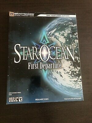 Star Ocean first departure official game guide RPG square enix NEW