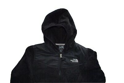 Girls North Face Black Jacket Medium (age 10/12)