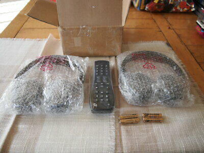 OEM GM 2 CHANNEL IR FOLD TWO HEADSET One Remote HEADPHONE  20830570