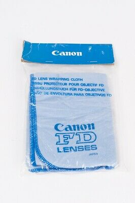Canon FD lens wrapping cloth - genuine collector item