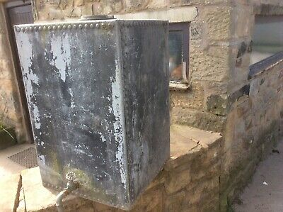Galvanised riveted water tank 07736199303.