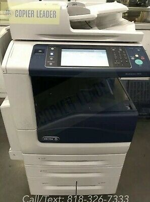 Xerox Work Centre 7855 - 21k Meter Only- Office Copier Color- Finisher Included