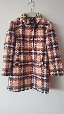 Girls Wool Coat Age 6 Years From Next Brand New