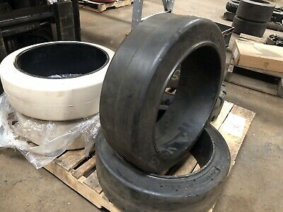 21x7x15 Continental Press On Tire Forklift Tires NashLift
