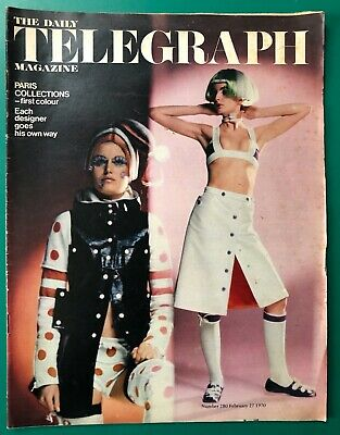 The Sunday Telegraph Magazine Feb 1970 PARIS FASHION