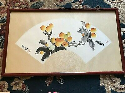 DIPINTO CINA CINESE antico vintage CHINESE paint
