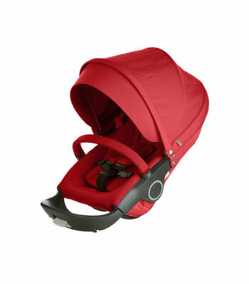 Stokke Xplory , Trailz and Crusi Stroller Seat Complete Red