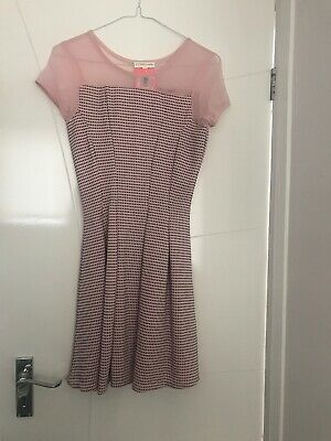Bhs Tammy Girl Pink Dress New Age 12-13yrs £20 New