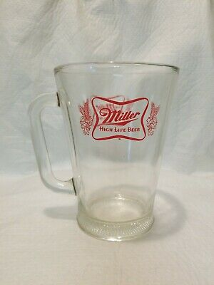 Vintage 70's Miller High Life Pitcher